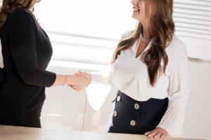 Look para una entrevista de trabajo